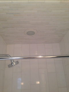 Small Tiles In Your Shower Ceiling