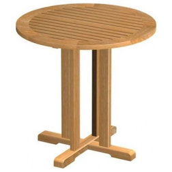 Transitional Outdoor Pub And Bistro Tables by Westminster Teak