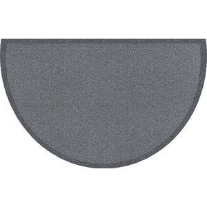 Curved Clean Keeper Doormat, Light Grey