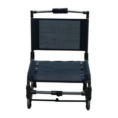 Shelter Logic DFC101-10-1 Small Compact Traveler Chair - Black