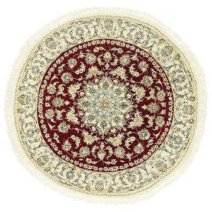 Nain 9La Oriental Rug, Round Hand-Knotted, 150x150 cm