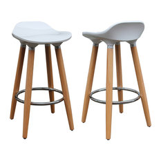 Inspire At Home Casteel Counter Stools Set Of 2 Bar And