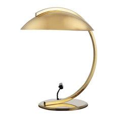 German Art Deco Table Lamp, Gold