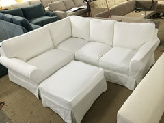 Poll shabby chic yes or no for Sectional sofas yes or no