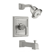 American Standard T555.528 Town Square Tub and Shower Trim - Nickel