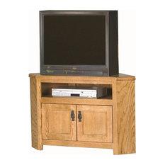 Eagle Furniture 40-inch Mission Corner Entertainment Console Concord Cherry