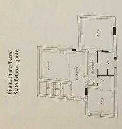 disposizione cucina/soggiorno