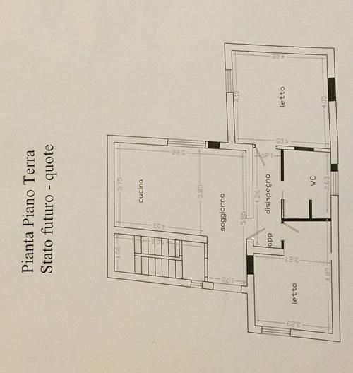 Disposizione cucina soggiorno for Disposizione soggiorno