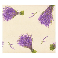 """PROVENÇAL """"BUNCHES OF LAVENDER"""" 100% COTTON FRENCH PRINT"""