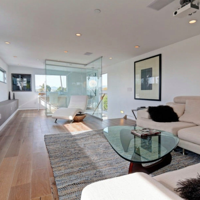 Living room remodel in West Hollywood