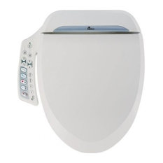 Bio Bidet BB-600 Ultimate Bidet Toilet Seat Elongated With Side Control Panel