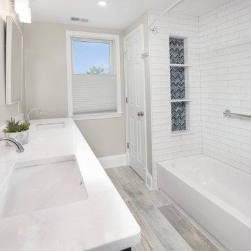 Blue Bathroom Vanity- Parkville
