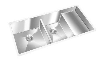 "GEMINI Undermount S/S Kitchen Sink, 10mm Radius Corners, 42.75""x19"""