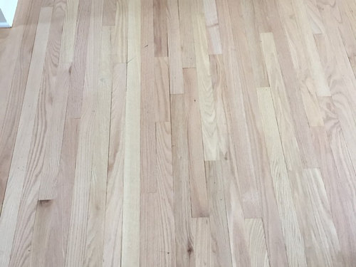 Matching Old Hardwood Floor Stain With New Trivia