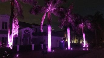 RGB LED Landscape Lighting