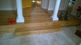 Modern Family Home Solid Oak Floor