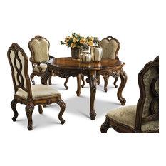 Prescott 5-Piece Dining Set, Antique Walnut