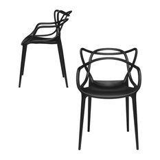 Laura Davidson Furniture   Masters Entangled Chair, Modern, Stackable, Set  Of 2,