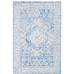 """Surya - Surya Serafina SRF-2018 Traditional Area Rug, Pale Blue, 5' x 7'6"""" Rectangle - The India inspired Surya Serafina SRF-2018 Updated Traditional Area Rug is made from 100% Wool in a Medium Pile and is available in several sizes of high-quality, fashionable Accent Rugs, Runners and Area Rugs for an upscale feel to your home."""