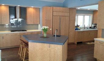 Crestwood Birdseye Maple Kitchen