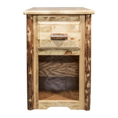 Glacier Country End Table with Drawer
