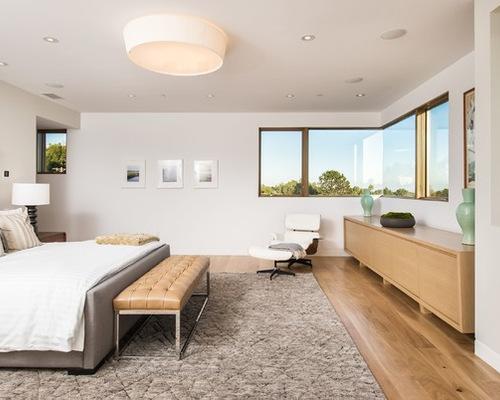 Modern Master Bedroom | Houzz