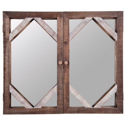 Rustic Wall Mirrors by Foreside Home & Garden