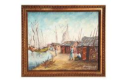 Jacques Laurent, Haiti, Oil Painting