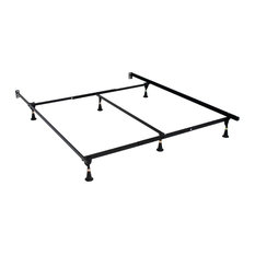 Atlas-Lock Keyhole Glides Bed Frame, Queen/King/Cal King