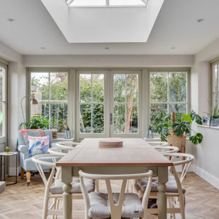 Inspiration for a traditional dining room in Berkshire.