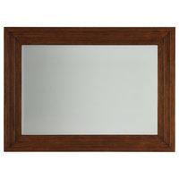 Emma Mason Signature Oak Haven Landscape Mirror, Dark Walnut, TOM0113