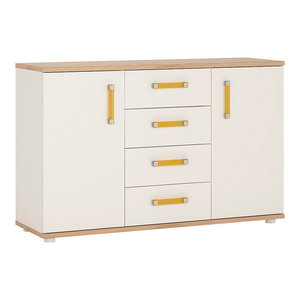 For Kids Wide Sideboard, Orange