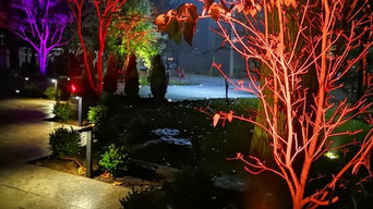Luxor ZDC Landscape Lighting - Zoning, Dimming, and a spectrum of 30,000 colors.