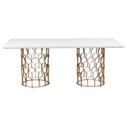 Contemporary Dining Tables by TOV Furniture