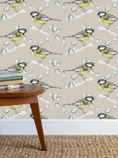 Great Tit Stone Wallpaper - Products