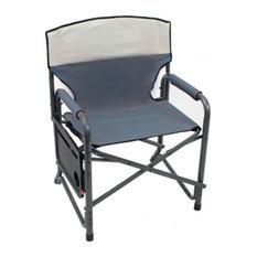 Shelter Logic Broadback XXL Director's Chair - Slate/Putty
