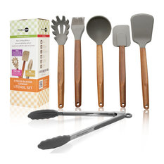 6-Piece Silicone Cooking Utensils