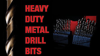Cobalt Drill Bits for easier drilling of stainless steel