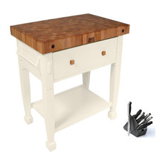 Boos Blocks   John Boos Butcher Block 36x24, Henckels 13pc Knife Set   Kitchen  Islands