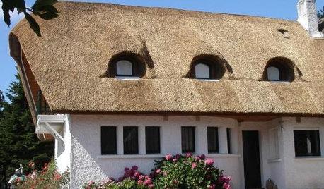 Architecture régionale : Les toitures en chaume