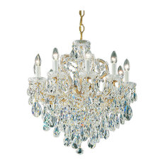 Old world chandeliers houzz classic lighting maria theresa olde world gold crystalique chandeliers aloadofball Choice Image