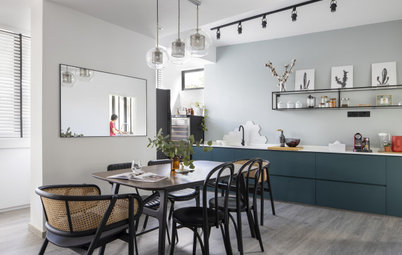 Houzz Tour: A Light, Airy Flat is Given an Elegant Update