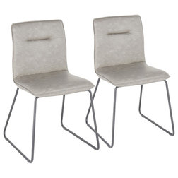Transitional Dining Chairs by LumiSource