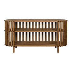 NOIR Furniture - Consuela Console In Teak - GCON319T