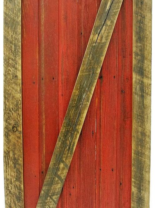 Montana Red Sliding Barn Door - Interior Doors