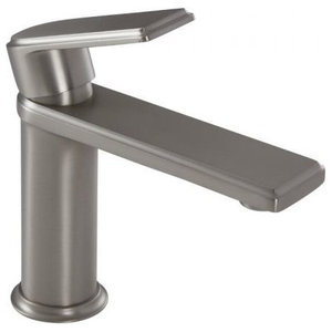 Single-Hole Bathroom Faucet In Brushed Nickel Finish