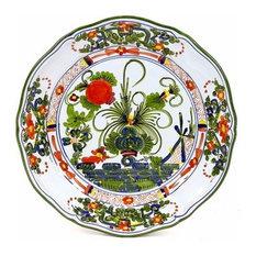 Faenza, Scalloped Dinner Plate
