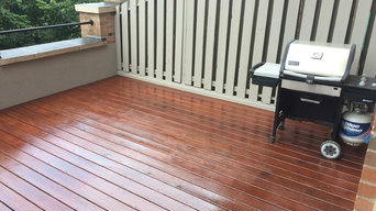 Deck Pressure Washing and Staining