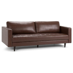 Miraculous Aeon Furniture Zander Sofa In Caramel Finish Aeth63 0 Gmtry Best Dining Table And Chair Ideas Images Gmtryco