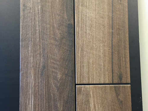 Porcelain Wood Tile Grout Color Light Or Dark - Daltile saddle brook farmhouse